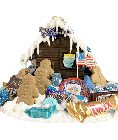Dark Chocolate Chanukah House
