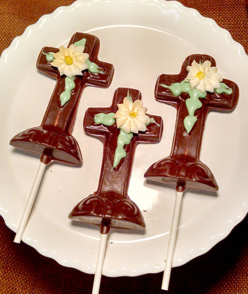Chocolate Cross Pops