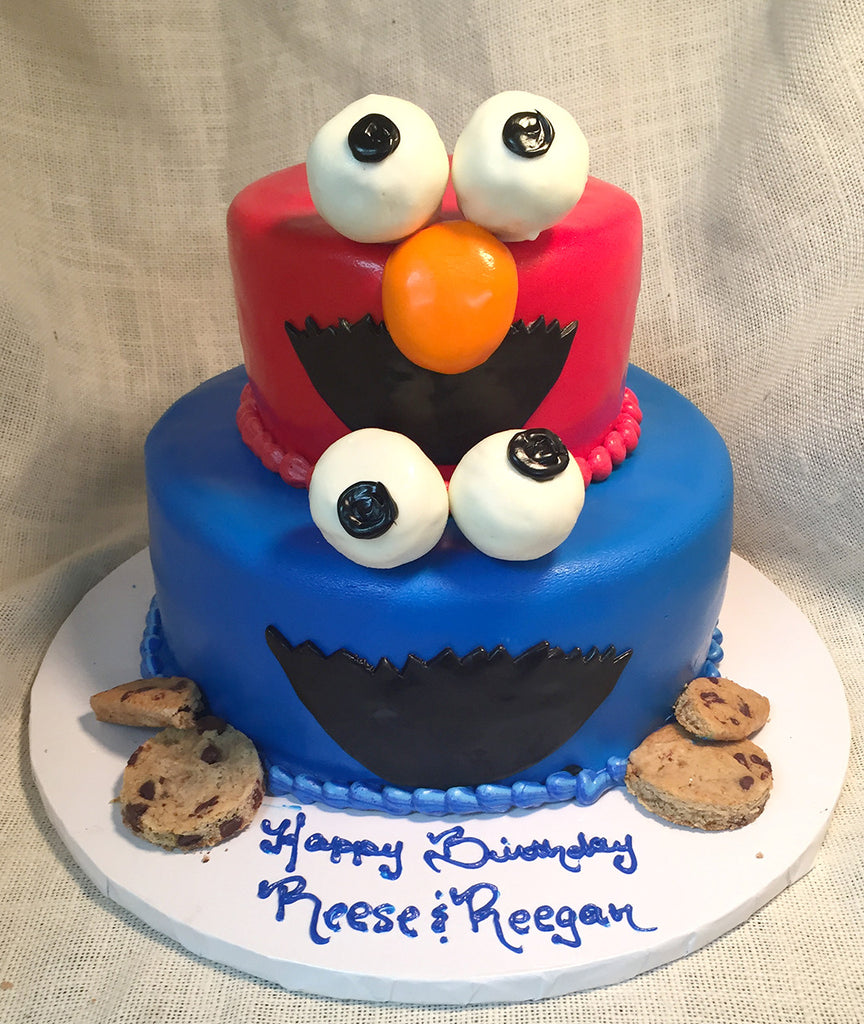 Cookie Monster & Elmo