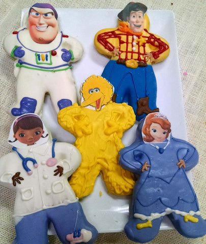 Character Cookie Favors