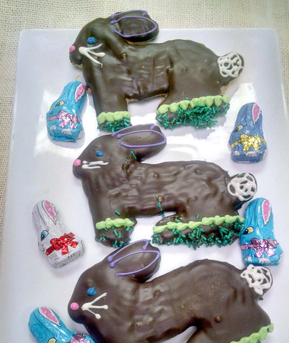 Chocolate Bunny Cookies