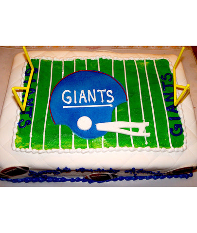 Favorite Team Football Field Cake