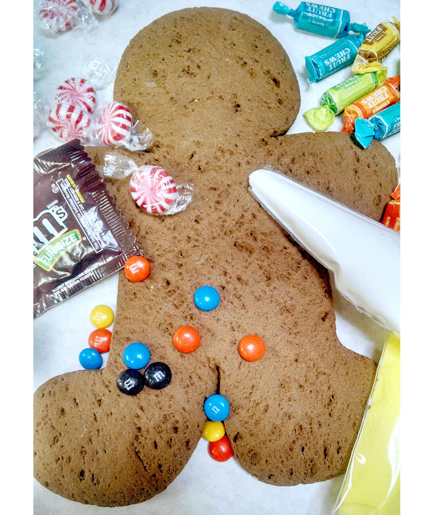 Giant Gingerbread Man Decorating Kit