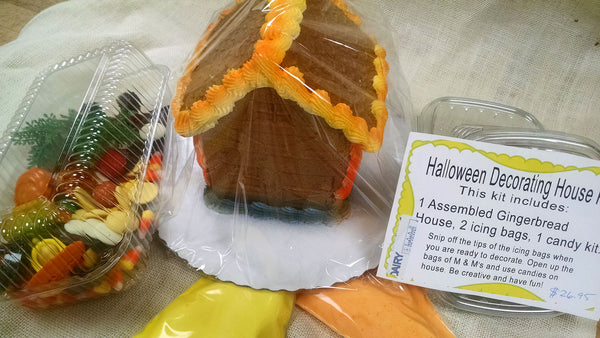Halloween Gingerbread House Decorating Kit