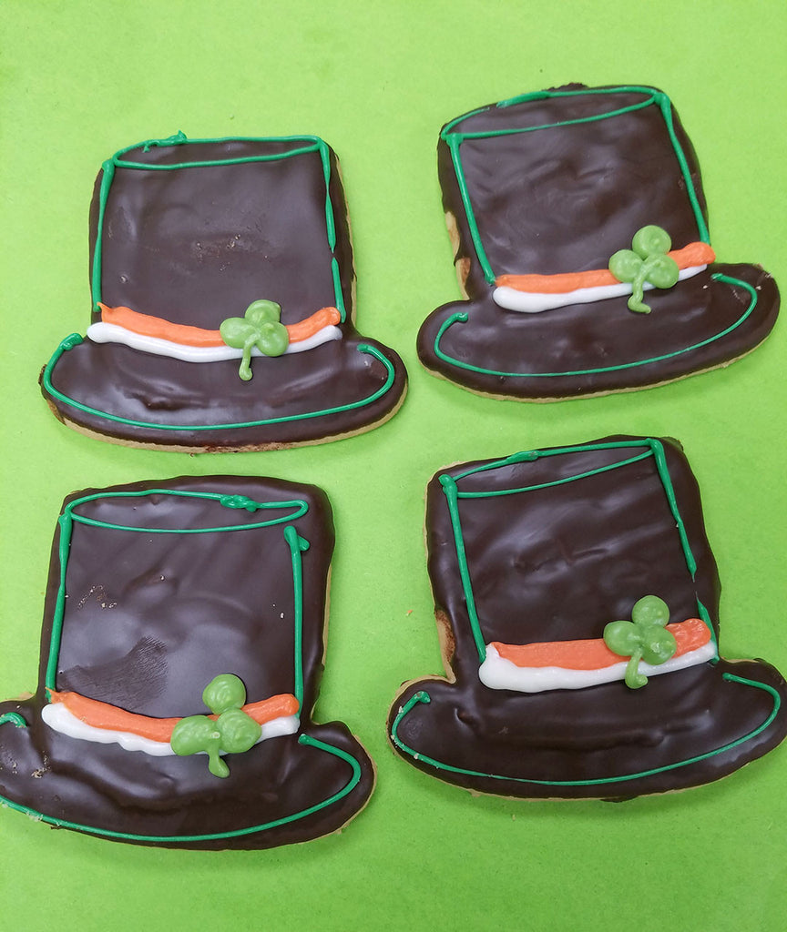 St. Patrick's Day Hat Cookies
