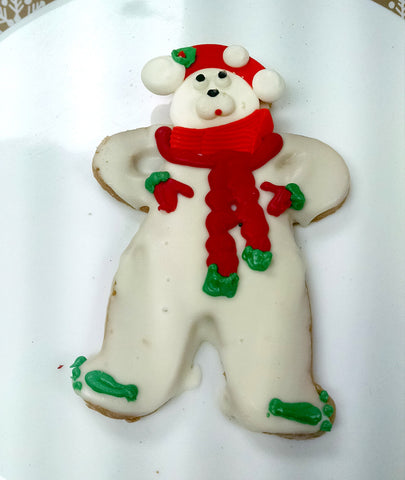Holiday Bear Cookie