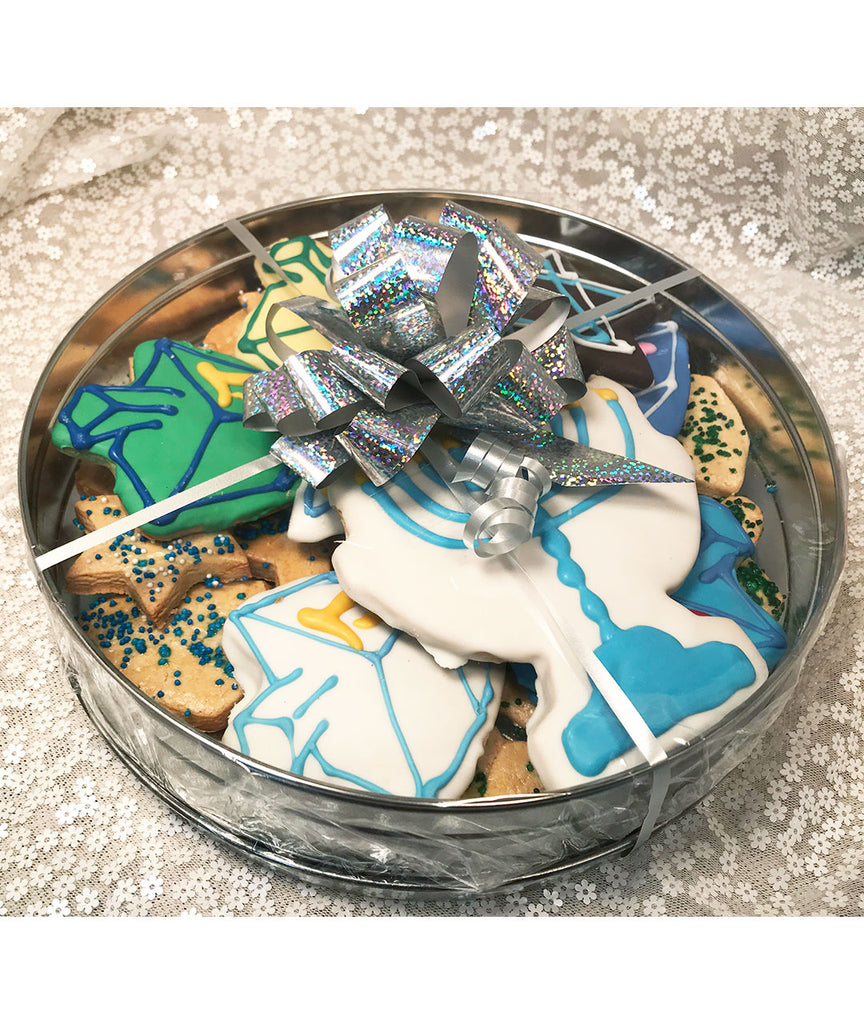 Large Chanukah Cookie Tin