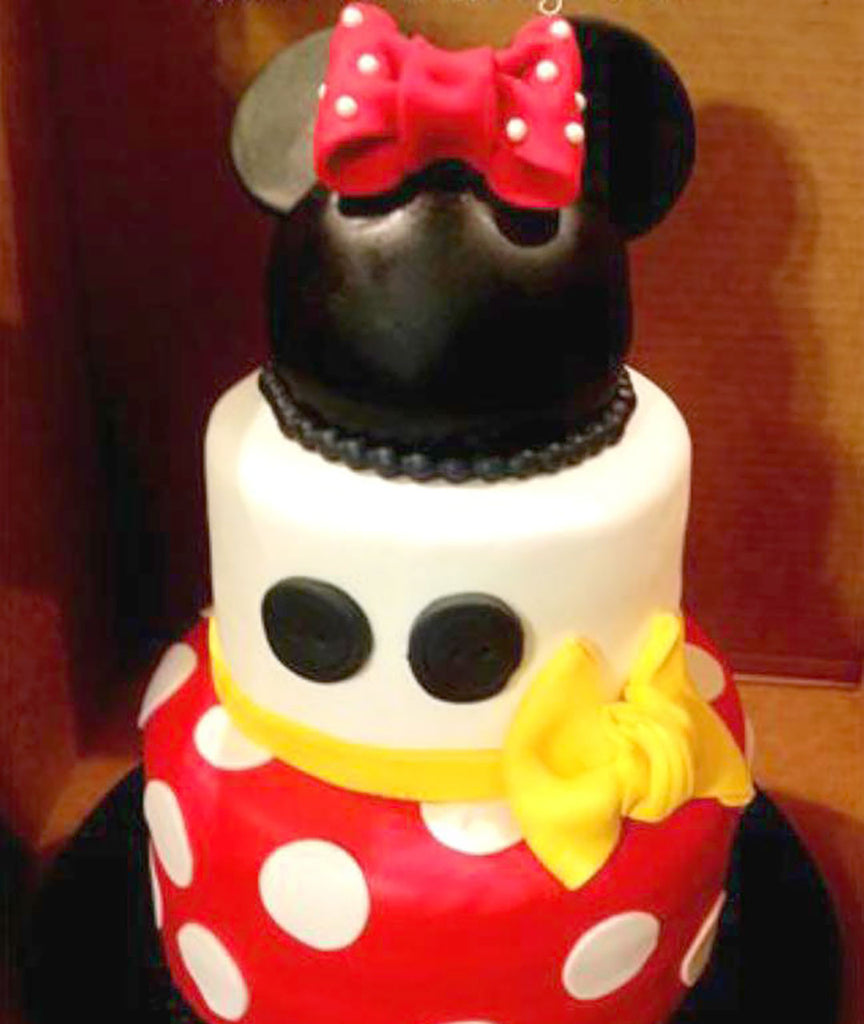 Tiered Minnie Mouse