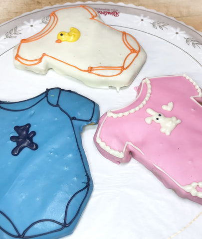 Baby Onesie Cookie Favors
