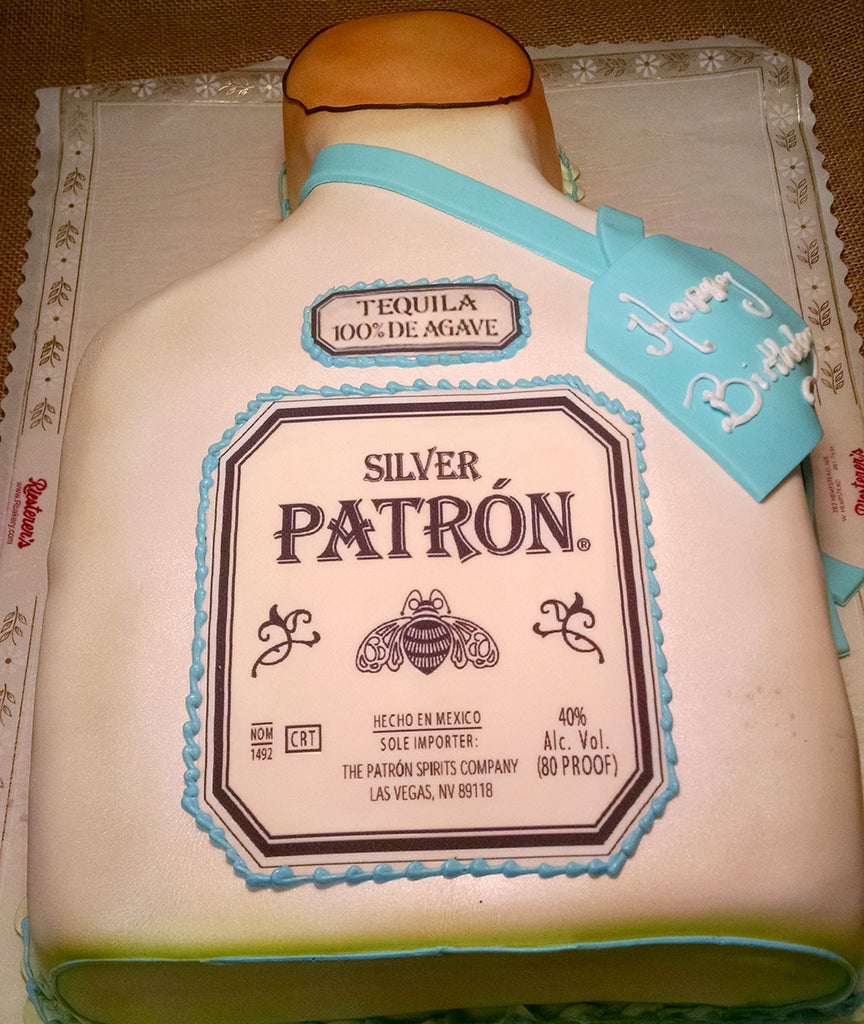 Patron Liquor Bottle
