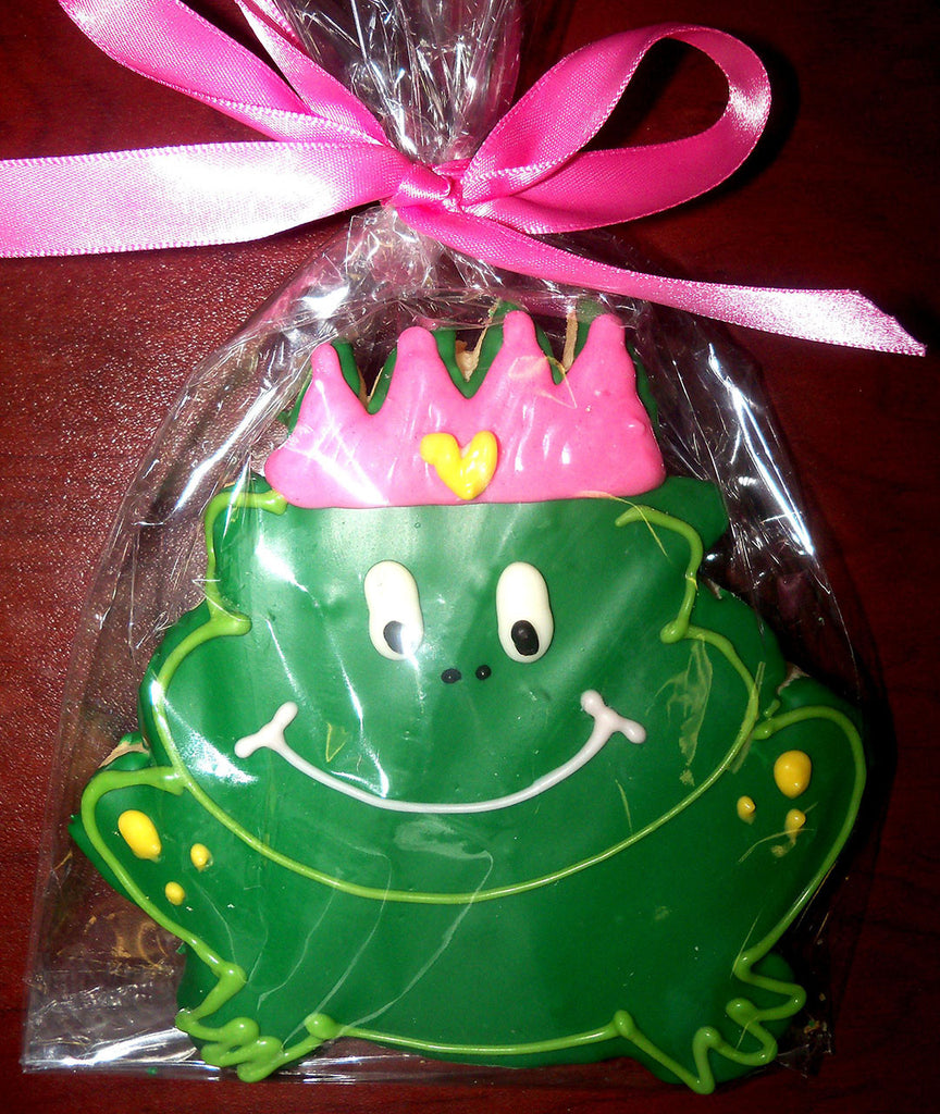 Princess Frog Cookie