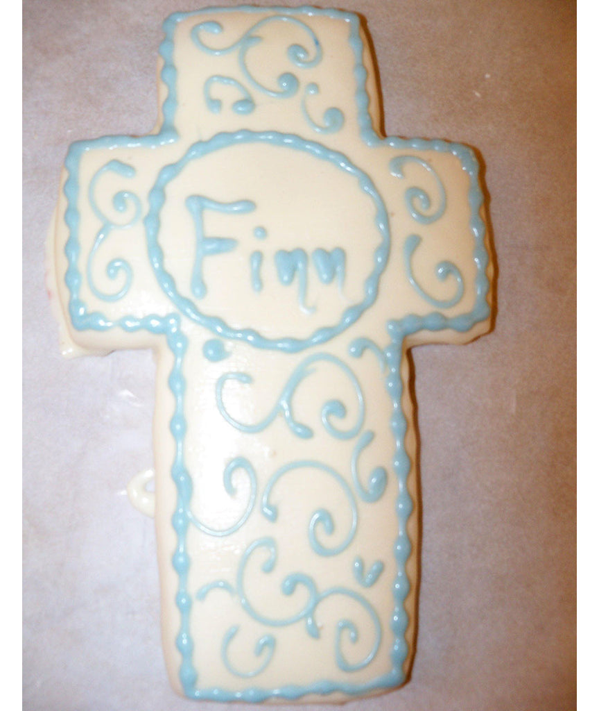 Scroll Cross Cookies