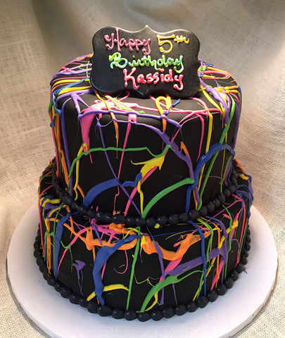 Silly String Cake