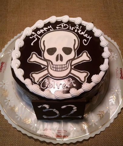 Prime Birthday Cakes Tagged Skull Riesterers Bakery Funny Birthday Cards Online Eattedamsfinfo