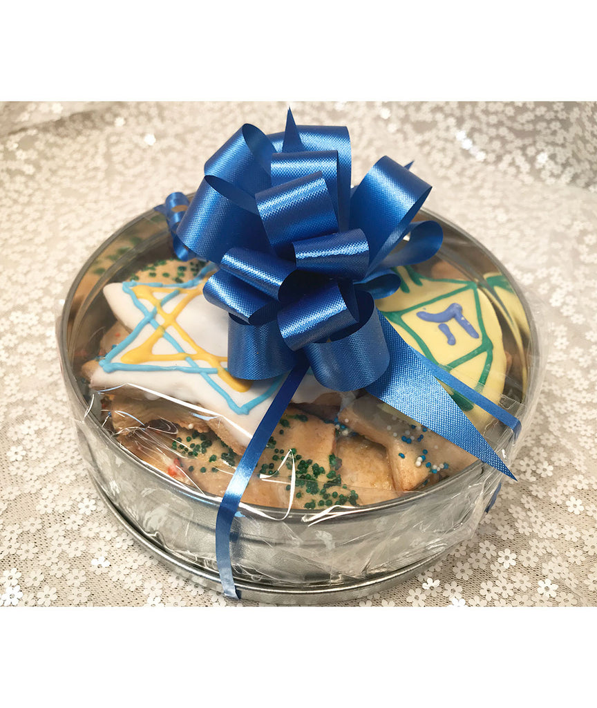 Small Chanukah Cookie Tin