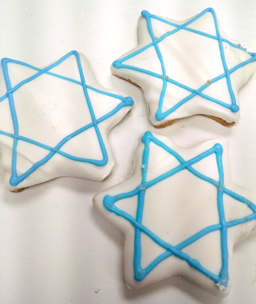 Star of David Cookies (pareve)