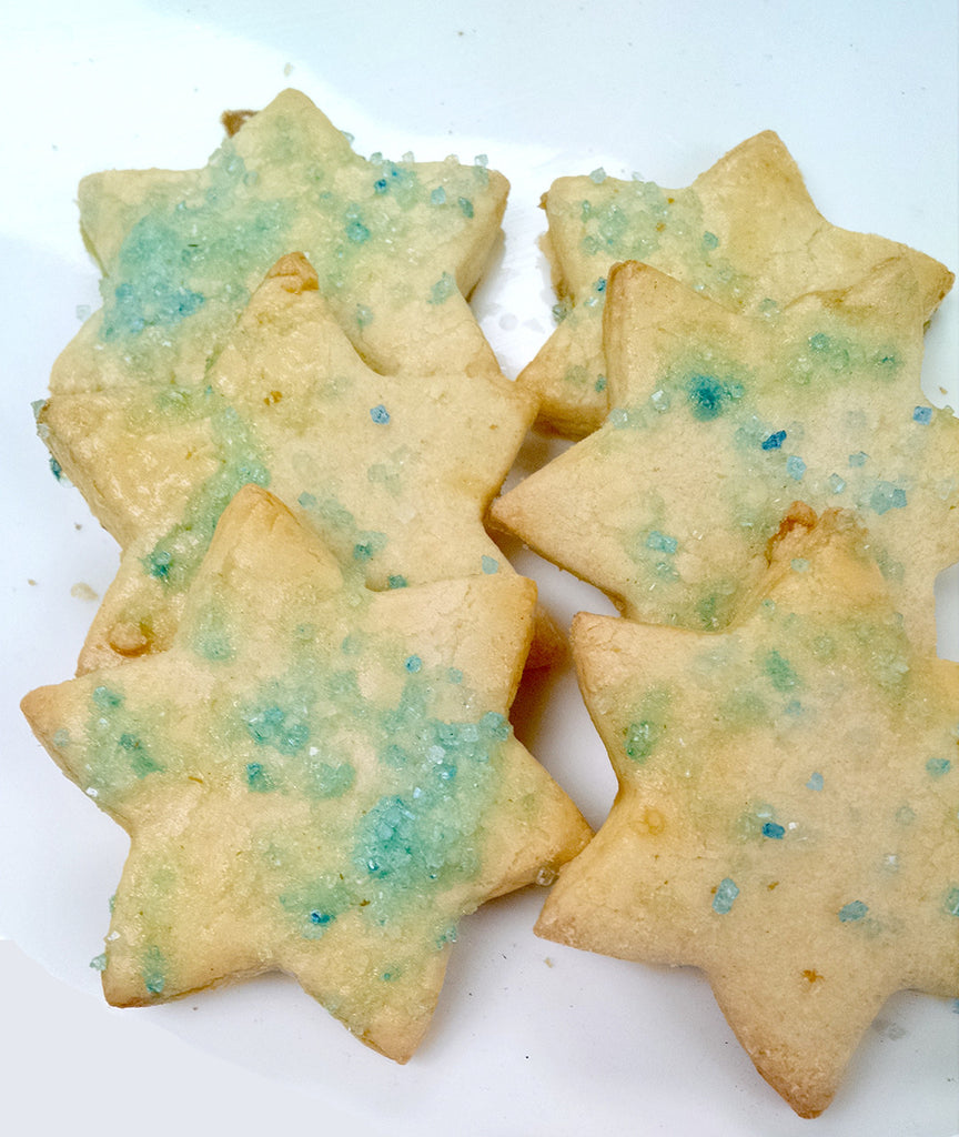 Sugar Star of David Cookies