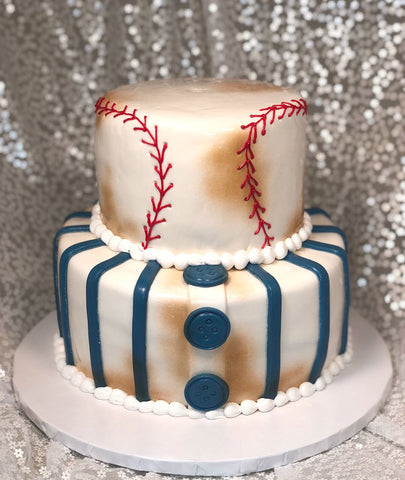 Excellent Birthday Cakes Tagged Baseball Riesterers Bakery Funny Birthday Cards Online Fluifree Goldxyz