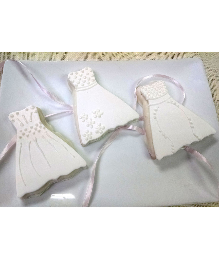 Wedding Dress Favors White