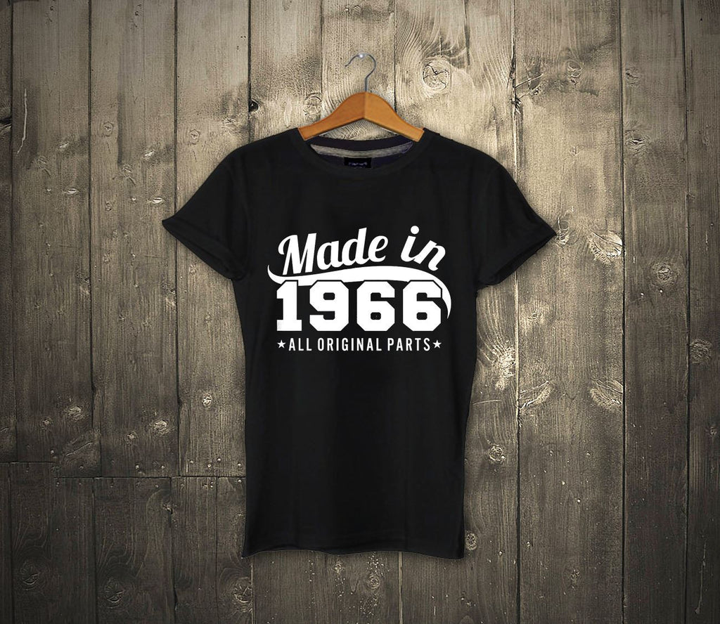 MADE IN 1966 Mens 50th Birthday