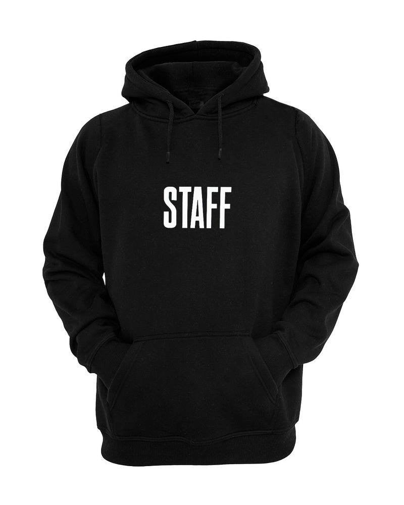 Justin Bieber STAFF New Hoodie Upcoming Music Tour
