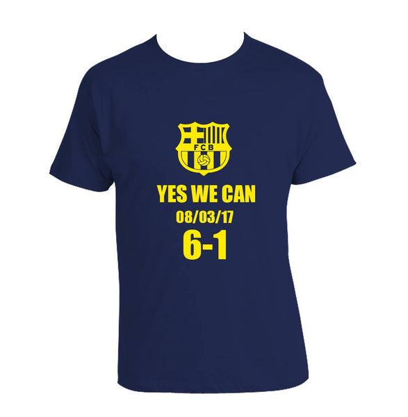 Yes We Can 08/03/17 F.C BARCELONA Greatest Comeback ever