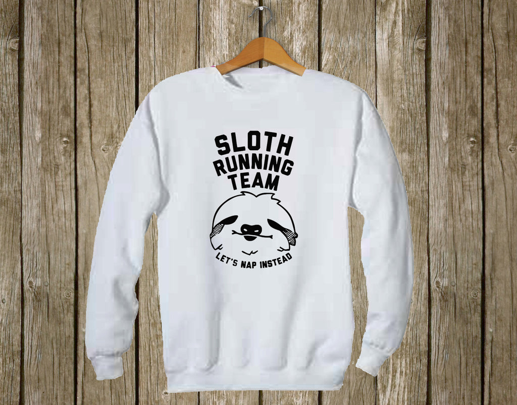 Sloth Running Team - Let's Nap Instead!