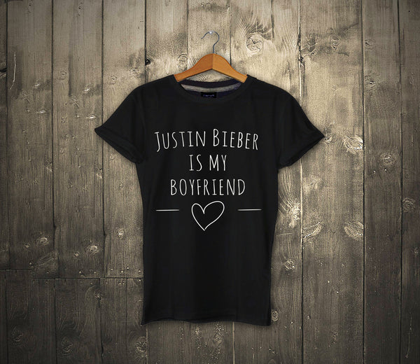 Justin Bieber Is My Boyfriend - T-shirt