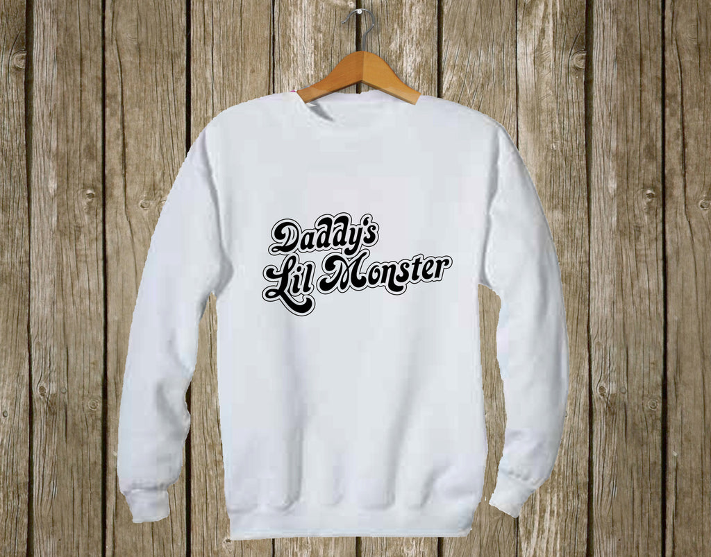 Daddy's Lil Monster Sweatshirt