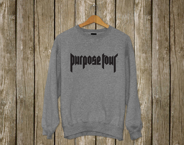 purpose tour Justin Bieber Sweatshirt