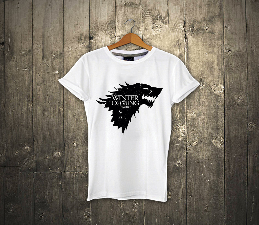 Black / White Wolf - Winter Is Coming