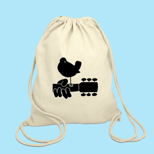 woodstock Drawstring Bag