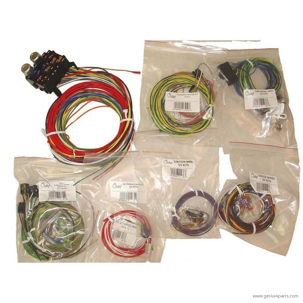 Centech Wiring Harness Early Bronco Instructions 48 Diagram 55 86 Jeep Cj Models