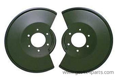 Disc Brake Dust Shields; 78-86 Jeep CJ Models for $ 77.30 at Get4x4Parts.com