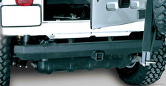 Rock Crawler Rear Bumper, 2 Inch Hitch; 87-06 Jeep Wrangler YJ/TJ-Get4x4Parts.com