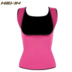 Plus Size Neoprene Sweat Sauna Hot Body Shapers Vest Waist Trainer Slimming Vest Shapewear