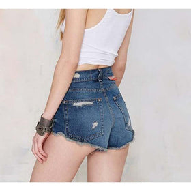 Jeans Shorts Summer Women's Denim Short Trousers Slim Pants Girls Plus Size XS -XXL