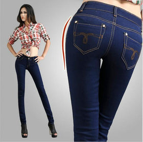 DHgate-249521554 Jeans denim jeans  arrival Jeans Pencil Style  Denim Jeans Slim sexy jeans woman