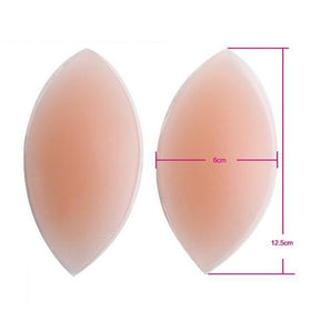 DHgate-269811937 Intimates Accessories 3 Pads Push Up Silicone Bra Inserts Invisible Pads Breast Enhancer Intimates