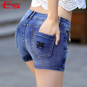 la-fashion-district-llc Denim Skirt Shorts Women Plus Size Vintage Short Jeans Female Fashion Jeans Shorts Skirt Feminino