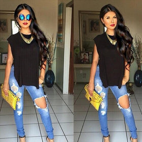 LA Fashion District LLC Jeans Fashion Jeans Woman  High Waisted Jeans