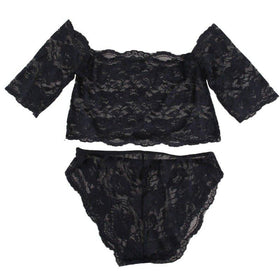 LA Fashion District LLC LQ1011B / L Lace Lingerie Suit Babydoll Women Underwear Nightwear Sleepwear