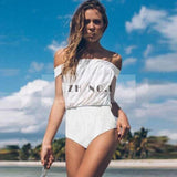 LA Fashion District LLC LT149 / L lace up one piece swimwear swimsuit bathing suit for women hollow out monokini bodysuit