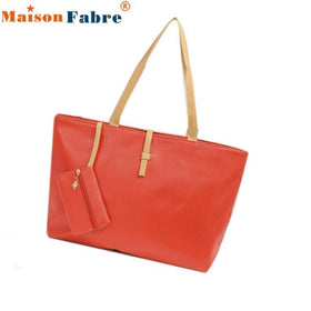 LA Fashion District LLC Red Fabulous Handbag Lady Shoulder Bag Tote Purse Women Messenger Hobo Crossbody Bag bolsos No09