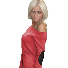 LA Fashion District LLC Red / L Fashion Sexy Women Off Shoulder Long Sleeve Short Mini Dress Casual Clubwear Dresses LL2