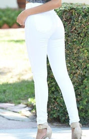 la-fashion-district-llc White / S sexy jeans woman woman pants high waist pantalon push up femme new fashion