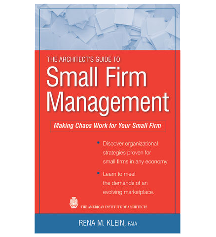AIA Store - Architect's Guide to Small Firm Management - Wiley