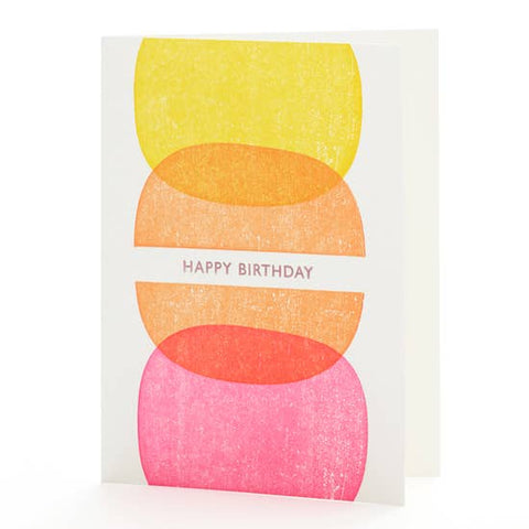 Candies Birthday Card