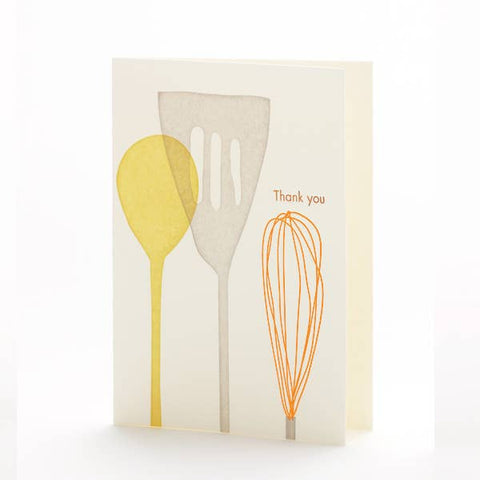Kitchen Utensils Notecard