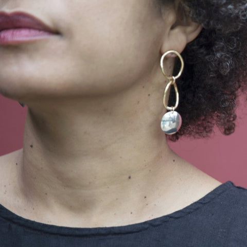 Pilar Earrings by Slantt